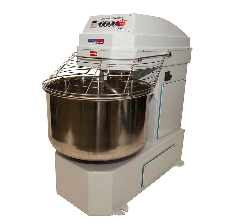 Amasadora Rápida a espiral tablero electromecanico 50kg de harina